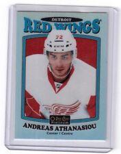 2016-17 O Pee Chee Platinum Retro Rainbow Andreas Athanasiou Detroit Red Wings