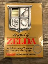 The Legend of Zelda (Nintendo Entertainment System, 1987) Gold w/ Box & Manual!