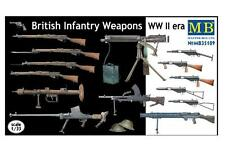 MASTER BOX 1:35  WWII British Infantry Weapons  MBL35109