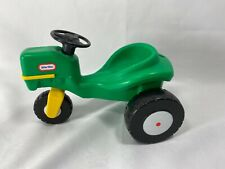 Green Tractor Little Tikes Dollhouse Sized Vintage farm barn mower