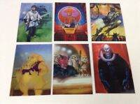Topps 1996 Holographic Shiny Star Wars Finest Trading Cards Lot of 6