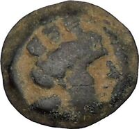 Arados in Phoenicia 300BC Ancient Greek Coin Ship Galley Tyche Fortuna i48431