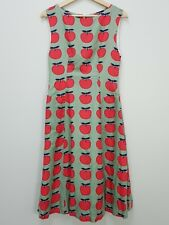 [ ELISE Australia ] Womens Apple Print Dress RRP$175 | Size AU 8 or US 4