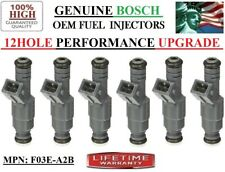 Set/6 NEW 12HOLE BOSCH Upgrade OEM Fuel Injectors *1985-1991 Ford Ranger 2.9L V6