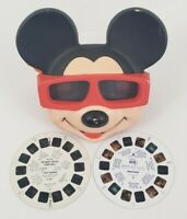 Ideal View-Master Mickey Mouse Ears 3D Reel Viewer Walt Disney Co  Vintage 1989