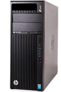 HP Z440 Workstation Xeon E5-1650 v3 6x 3,50GHz 32GB 512GB SSD Quadro K4200 W10