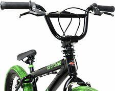 KS Cycling BMX Freestyle Fatt 20 Zoll Fahrrad - Schwarz/Grün
