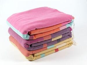 New RAINBOW Large Bath Towel Bath SPA Beach 100% Cotton