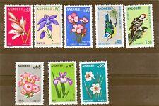 ANDORRE 229/236 faune et flore NEUF**.TB MNH sin charnela