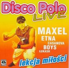 Disco Polo Live - Lekcja milosci  (CD)   NEW  POLISH