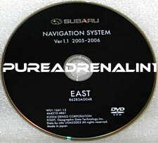 2006 SUBARU OUTBACK TRIBECA B9 NAVIGATION MAP DISC CD DVD EAST COAST CANADA OEM