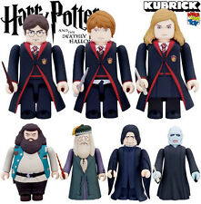 MEDICOM HARRY POTTER DEATHLY HALLOWS KUBRICK FIGURE SET WITH CHASE 9 PCS