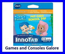 New!!  Vtech InnoTab 3 and 2 Bubble Guppies, Educational Game and E-Book