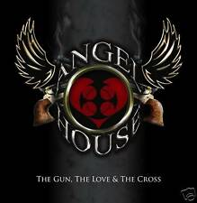 Angel House - The Gun The Love & The Cross 2009 Rock CD British Birmingham