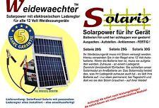Solarmodul für Weidezaungeräte - 'Solaris 30G' - 30 Watt - m. elektr. Laderegler