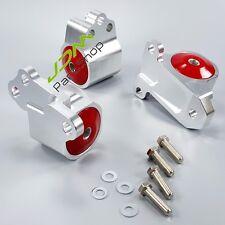Aluminum | Engine Mounts | Del Sol Civic 92-95 Integra 94-01 | 3-Bolt Style