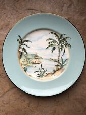"""Lenox British Colonial Tradewind Accent Luncheon Plate 9.5"""""""