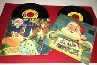 VTG SANTA  CHRISTMAS VINYL CHILDS VINYL RECORDS PICTURE SLEEVE NIGHT BEFORE