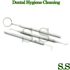 Dental Hygiene Cleaning Kit Scaler Tooth Scraper Oral Care Dental Mirror PR-274