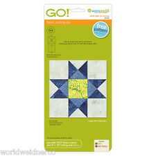 """AccuQuilt GO! & Baby! Fabric Cutter Cutting Die Ohio Star-12"""" Finished 55174"""