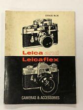 ELP01_027a Leica and Leicaflex Camera Catalog #38 for Cameras & Accessories