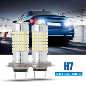 NOVSIGHT Car H7 3014 SMD LED Fog Tail Brake Parking Light Lamp 6500K White Beam