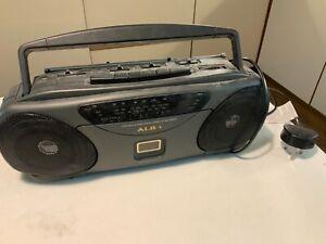Alba potable stero radio cassette recorder