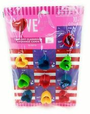 Love Tear Off Classroom Valentine Exchange Cards Slinky's 10 Count