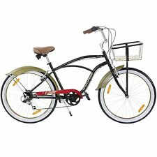 beachcruiser Viking cruisy GENT 26 pollici INCROCIATORE BICI LOW RIDER