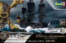 Revell 5499 Pirates of Caribbean Black Pearl Pirate Ship plastic model kit 1/150