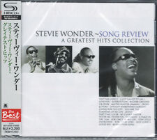 STEVIE WONDER-SONG REVIEW A GREATEST HITS COLLECTION-JAPAN SHM-CD E50