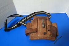 Vintage Nicholas 8 Pocket Leather Cowhide Professional Tool Belt #603