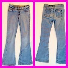 Miss Sixty 💖 ellah 💖 jeans golpe pantalones azul hielo azul pantalones hippie XXS w23 24