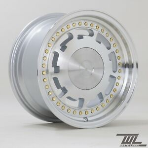 "WL 15"" Slot 8J ET25 alloy fits 4x100/4x114 SINGLE WHEEL"