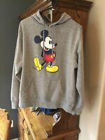 Disney Parks Mickey Mouse Hoodie Adult Medium Unisex Gray