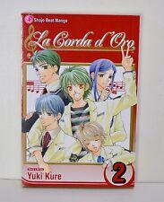 La Corda d'Oro Manga Vol. #2 by Yuki Kure (Shojo Beat, Paperback)