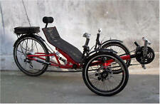 Electric Recumbent Tricycle, recumbent trike, Recumbent bicycle, Electric trike