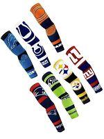 NEW! Pair NFL Team Strong Arms Sleeve Sleeves Football Fan Gear Sunblock