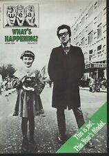 WEA RECORDS IN-HOUSE MAGAZINE COVER Elvis Costello Post-STIFF RECORDS  VG cond