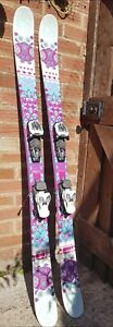 K2 Missy Twin tip skis 149cm with Marker bindings adjustable