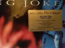 Killing Joke - Night time - Silver VINYL/LP LTD.EDITION - NEW