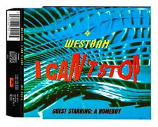 WestBam - I Can't Stop | Maxi CD | 3 Tracks | sehr guter Zustand | 1991