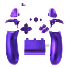 Replacement Controller Button Set ABXY Guide for Xbox One Game Chrome Purple