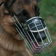 German Shepherd Dog Muzzle Basket That Allows Drinking For Medium And Large Dogs