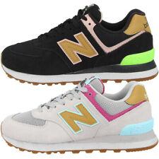 New balance WT 574 at zapatos cortos señora casual zapatillas deporte con cordones wt574at
