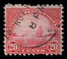 US Scott 567 Used Golden Gate 20 cent carmine rose      Lot N219
