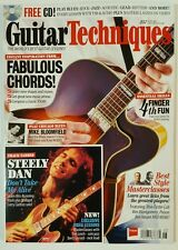 Guitar Techniques FREE CD Fabulous Chords Learn Skill June 2016 FREE SHIPPING JB