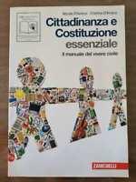 Cittadinanza e Costituzione essenziale - N. e C. D'Amico - Zanichelli - 2010- AR