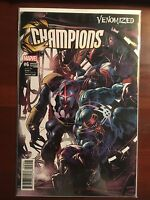 Champions issue #6 Mike Deodato Venomized Variant NM Marvel Waid Ramos