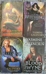 YASMINE GALENORN OTHERWORLD SERIES URBAN FANTASY PARANORMAL 4 BOOK LOT PAPERBACK